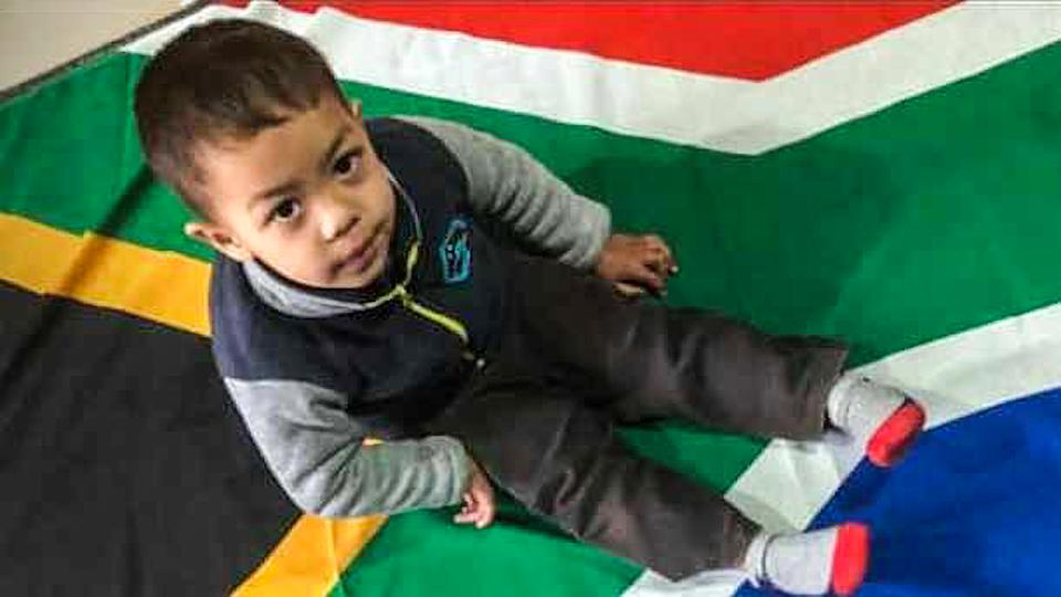 The mute and deaf three-year-old boy Luqmaan Jardien who was dragged out of his house and mauled to death by neighbours pit bull, in Turflyn Walk, Hanover Park. (Newsflash)