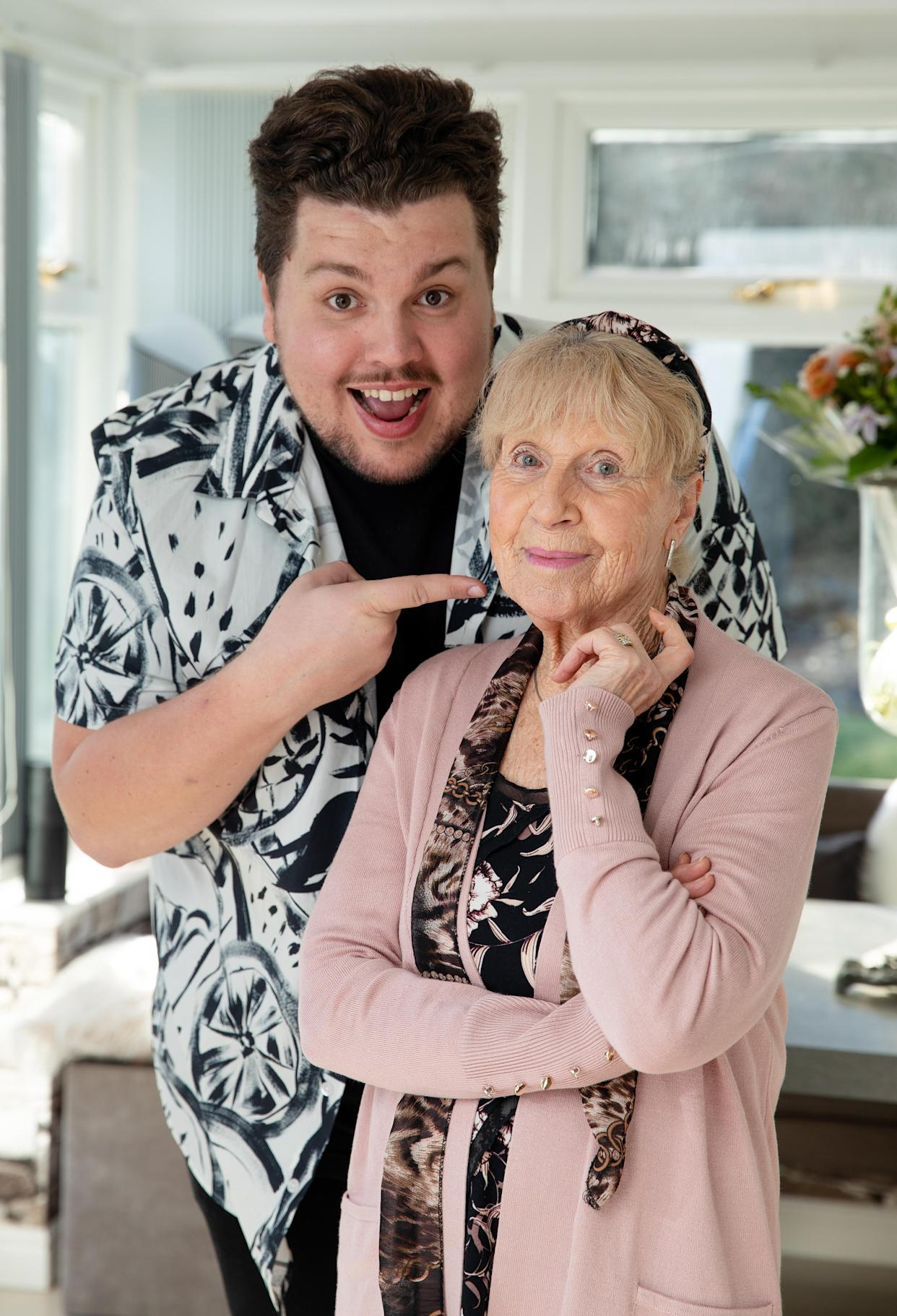 Scott Paige and his grandmother Dot (Channel 4/Amy Brammall)