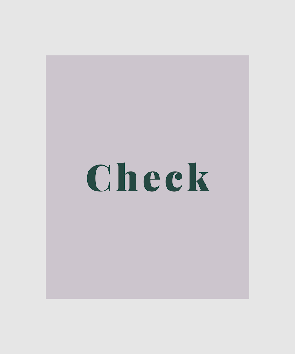 """<strong>Check</strong><br><br>If you're a patterns person, then <a href=""""https://www.refinery29.com/en-gb/best-checked-jacket-womens"""" rel=""""nofollow noopener"""" target=""""_blank"""" data-ylk=""""slk:checked coats"""" class=""""link rapid-noclick-resp"""">checked coats</a> are the way to go this season. From dark palettes of navy, grey and chocolate to brighter pops of mustard yellow and forest green, there are tons of check coats in a range of materials available right now."""