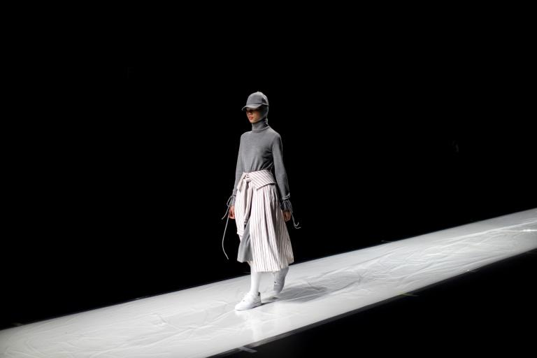 "Rani Hatta's Muslim-influenced collection combines loose-fitting ""modest wear"" with monotone sporty minimalism"
