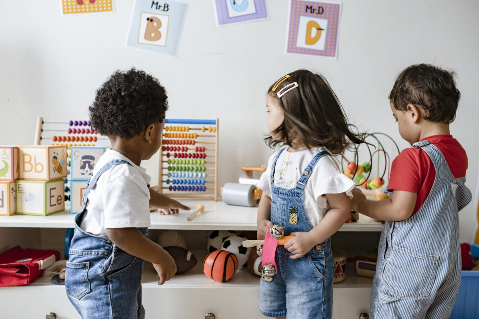 From temperature checks to shifts in teacher-child ratios, the coronavirus pandemic has ushered in new protocols for childcare providers. (Getty Images stock photo)
