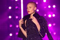 <p>Doesn't she look outstanding with this Cesar haircut? (Photo: Getty Images) </p>