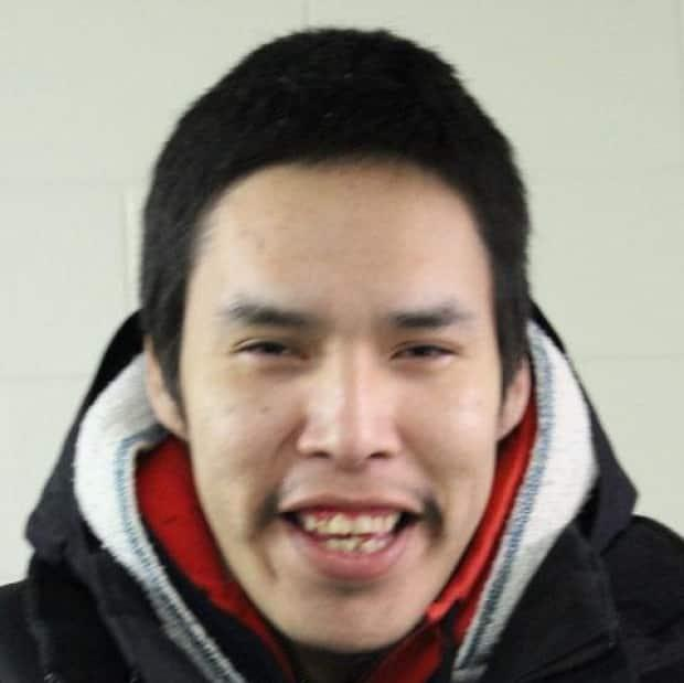 RCMP warned that Shawn Moostoos could have been armed. He was wanted in connection with a shooting on the James Smith First Nation. Police found him at a home in Melfort, Sask., on Monday afternoon. (RCMP - Handout  - image credit)