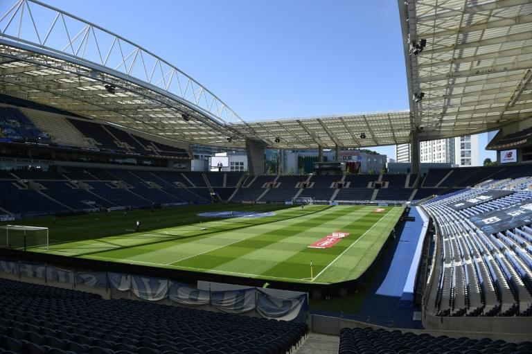 The Estadio do Dragao will be filled to a third of its capacity for the final