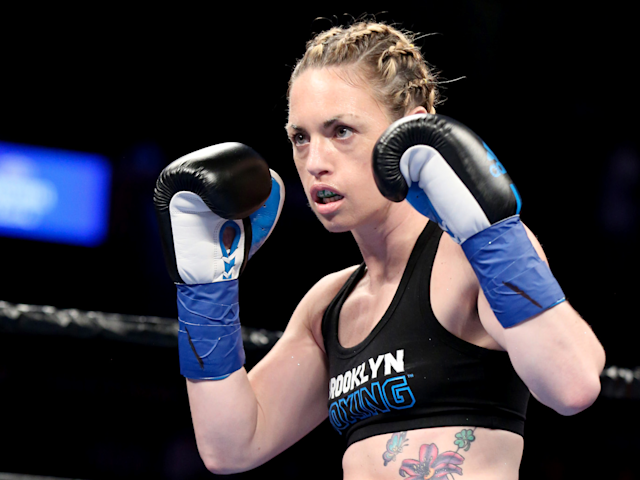 Heather Hardy is on the rise in Bellator. (Getty)