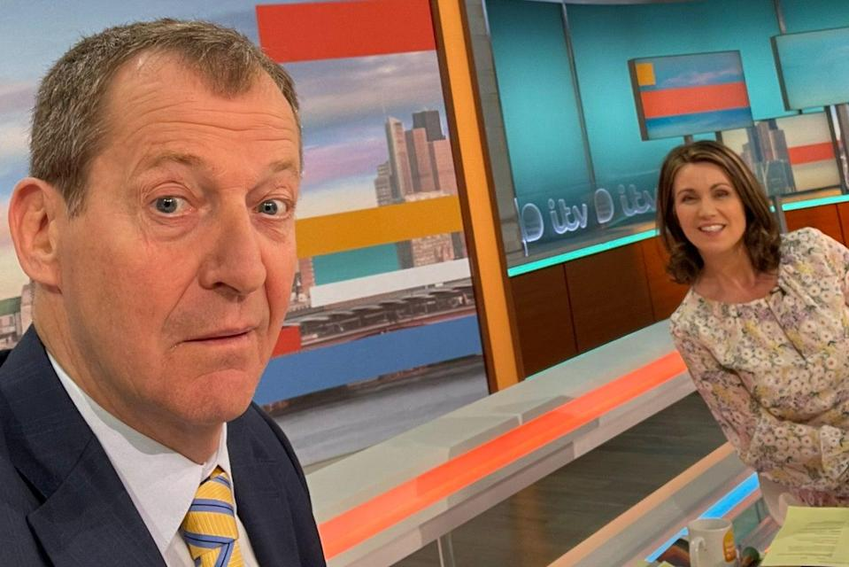 Alastair Campbell and Susanna Reid  (Alastair Campbell )