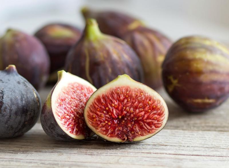 Sugary fruits ranked figs