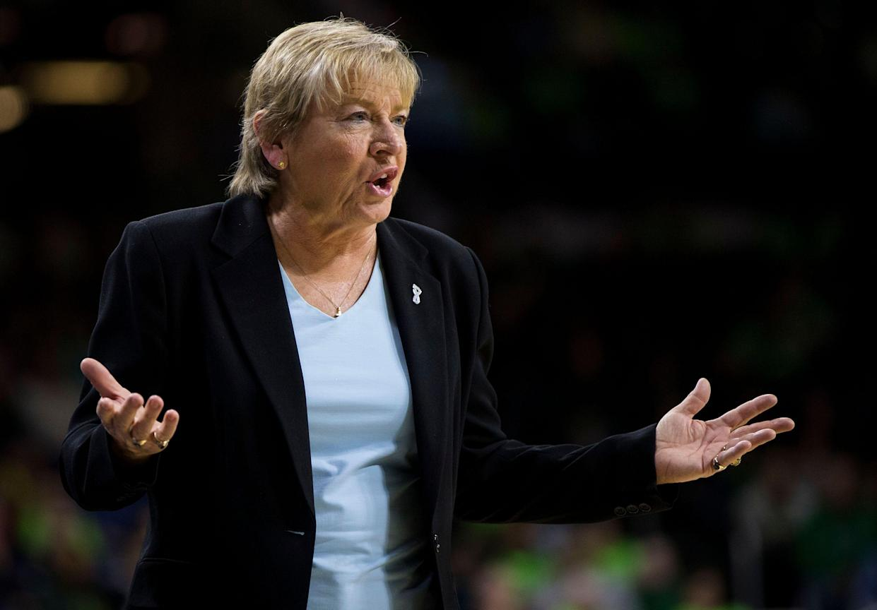 Parents accuse Hall of Fame UNC coach Sylvia Hatchell of racially tinged comments and pressuring players to play hurt. (AP)