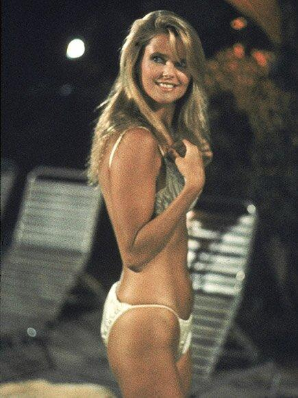 "The Los Angeles native burst onto the modeling scene in the early '70s after being discovered by a photographer. Beginning in 1979, the beauty covered the iconic <em>Sports Illustrated Swimsuit Issue</em> three consecutive times. Then in 1983, Brinkley showed off her incredible figure in her first film role as ""the girl in the red Ferrari"" in <em>National Lampoon's Vacation</em>."