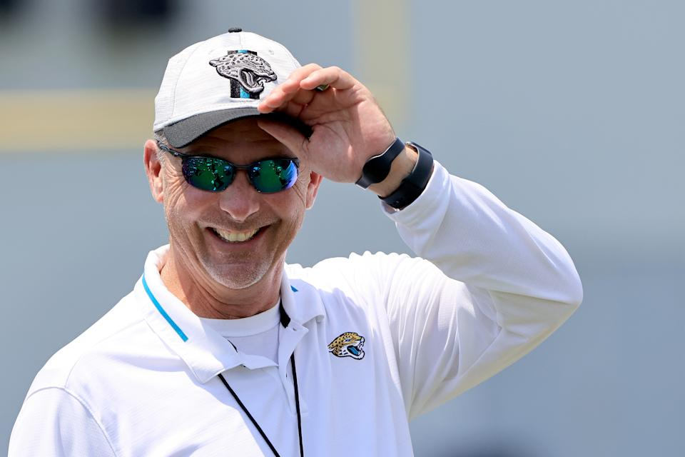 Jacksonville Jaguars coach Urban Meyer is going to test himself in the NFL. (Photo by Sam Greenwood/Getty Images)