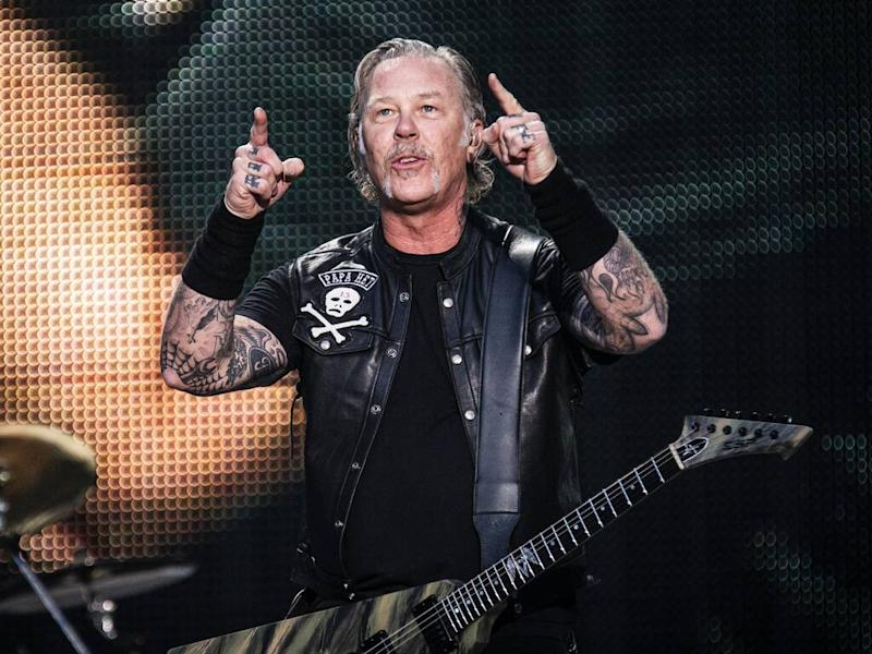 Metallica cancel tour dates as James Hetfield enters rehab