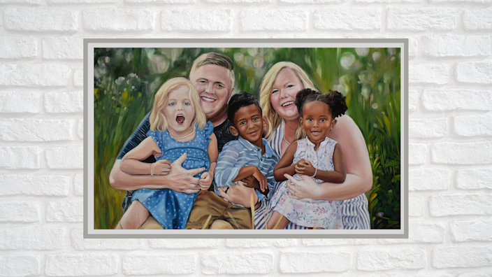 Best photo gifts of 2020: Custom Photo Painting