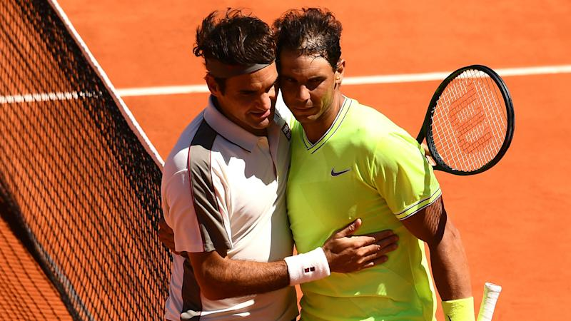 Nadal hails Federer as the greatest after blowing him away in Paris wind