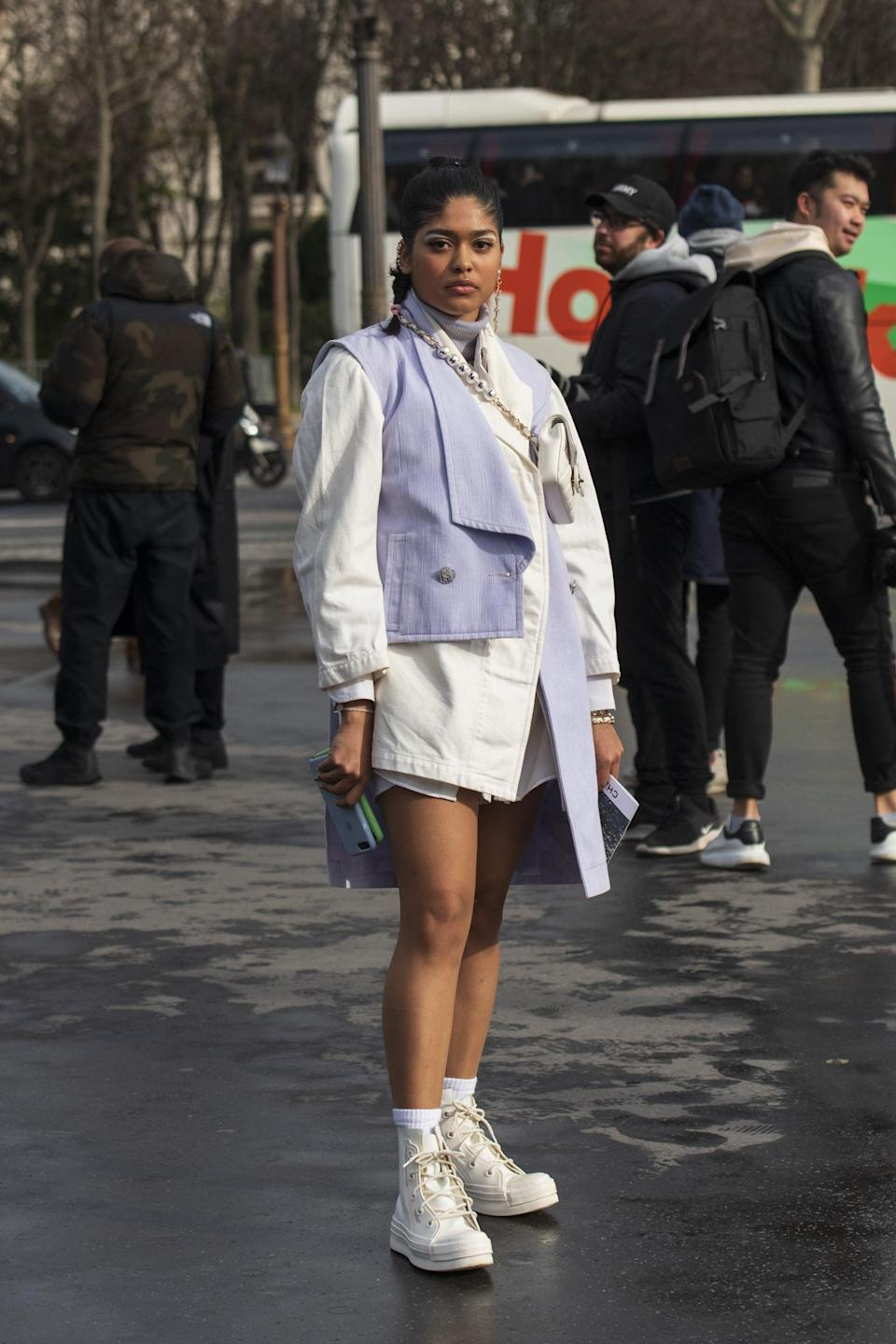 <p>With everyone's love of nostalgia going strong, it's only natural that high-top kicks still reign supreme. Whether you like the classic Nike Jordan look or Converse's Chucks, there are plenty of new picks that feel fresh. </p>
