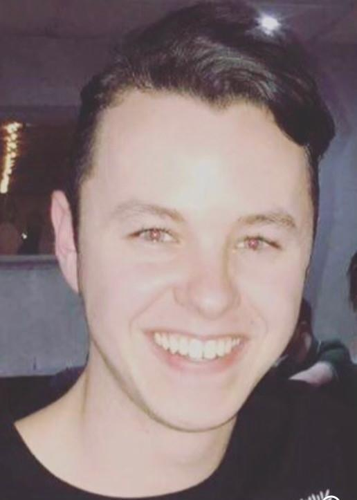 Duncan Browne, 23, was assaulted in Liverpool city centre on 4 July. (Merseyside Police)
