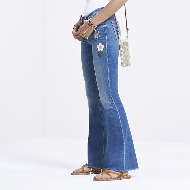 """<p>This is the tale of an indie-inspired denim brand turned lifestyle brand. Once customers fell in love with their super-soft, off-duty denim, it was full steam ahead. Created in L.A. with a range of modern fits, these '70s influenced jeans developed a cult following. From the funky modern flares to color blocking washes, each piece has its own little story. </p><p><strong>Best Seller: </strong><em><a href=""""https://www.motherdenim.com/products/looker-ankle-fray-love-gun?ranMID=40776&ranEAID=TnL5HPStwNw&ranSiteID=TnL5HPStwNw-qjnhsP_Xc038AylMIU8RAw"""" rel=""""nofollow noopener"""" target=""""_blank"""" data-ylk=""""slk:Looker Ankle Fray - Love Gun"""" class=""""link rapid-noclick-resp"""">Looker Ankle Fray - Love Gun</a>, $228</em></p><p><strong>Our Pick:</strong> <em><a href=""""https://www.shopbop.com/high-waisted-rascal-ankle-slit/vp/v=1/1547410551.htm?folderID=10959&fm=other-shopbysize-viewall&os=false&colorId=1837D&ref_=SB_PLP_NB_8"""" rel=""""nofollow noopener"""" target=""""_blank"""" data-ylk=""""slk:High-Waisted Rascal Ankle Slit"""" class=""""link rapid-noclick-resp"""">High-Waisted Rascal Ankle Slit</a></em>, $248</p><p><em>For more stories like this, including celebrity news, beauty and fashion advice, savvy political commentary, and fascinating features, sign up for the</em> Marie Claire <em>newsletter (</em><a href=""""https://link.marieclaire.com/join/3oa/mar-newsletter?authId=F0CC0C27-80DA-4734-ABDF-E4115B84A56B&maj=WNL&min=ARTICLES"""" rel=""""nofollow noopener"""" target=""""_blank"""" data-ylk=""""slk:subscribe here)"""" class=""""link rapid-noclick-resp"""">subscribe here)</a>.</p><p><a href=""""https://www.instagram.com/p/B-2ZangpRf0/"""" rel=""""nofollow noopener"""" target=""""_blank"""" data-ylk=""""slk:See the original post on Instagram"""" class=""""link rapid-noclick-resp"""">See the original post on Instagram</a></p>"""