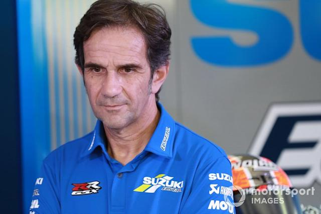 "Davide Brivio, director de Suzuki MotoGP <span class=""copyright"">Gold and Goose / Motorsport Images</span>"