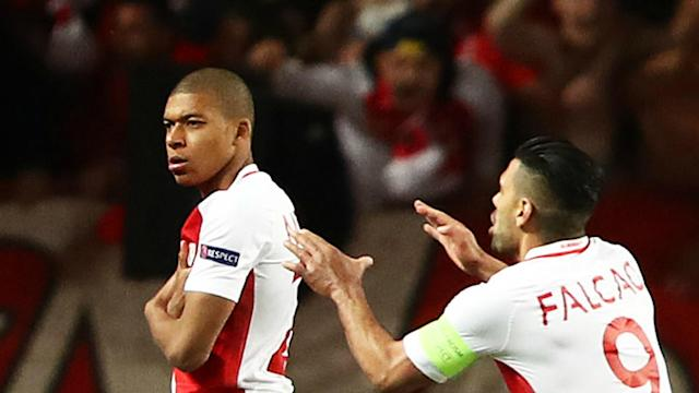 Monaco striker Kylian Mbappe set a slew of Champions League records and the teenager says his side fear nobody in the Champions League.