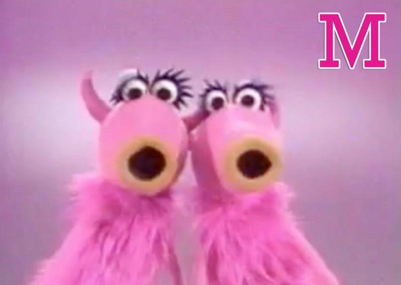 "M is for 'Mah Nà Mah Nà': Piero Umiliani's catchy song was first popularized in English-speaking countries in a <a href=""/sesame-street/show/33526"">""Sesame Street""</a> skit featuring two girl puppets who are unsure of what to sing but then are prompted by a beatnik puppet who utters, ""Mah nà mah nà."" They break into song and dance. Sister program <a href=""/the-muppet-show/show/32307"">""The Muppet Show""</a> later presented its own version on its very first episode, featuring two pink female ""Snowths"" as the backup singers. Sing along with us now: ""Mah nà mah nà ... pah tee pah tee pee!"" <a href=""http://www.zap2it.com/"" rel=""nofollow"">Source: Zap2it</a>"