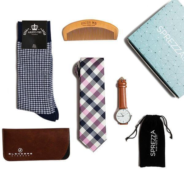 """<h3><strong><h2>SprezzaBox </h2></strong></h3><br><strong>Style Subscription</strong><br>Whether your father is a bonafide fashionista or quite the opposite, this trendy subscription box will take his style game to new heights — each one-off or recurring monthly shipment is filled with a stylist-curated selection of five or six premium fashion goods that he can proudly sport on his special day and beyond.<br><br><em>Shop <strong><a href=""""https://www.sprezzabox.com/pages/gift-plan"""" rel=""""nofollow noopener"""" target=""""_blank"""" data-ylk=""""slk:SprezzaBox"""" class=""""link rapid-noclick-resp"""">SprezzaBox</a></strong></em><br><br><strong>SprezzaBox</strong> Monthly Gift Subscription, $, available at <a href=""""https://go.skimresources.com/?id=30283X879131&url=https%3A%2F%2Fwww.sprezzabox.com%2Fpages%2Fgift-plan"""" rel=""""nofollow noopener"""" target=""""_blank"""" data-ylk=""""slk:SprezzaBox"""" class=""""link rapid-noclick-resp"""">SprezzaBox</a>"""
