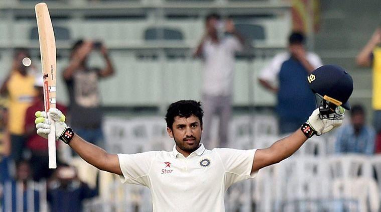 Karun Nair is the second Indian to score a triple century