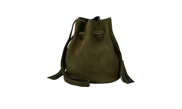 Suede hunter green mini bag (Photo: Heidi/Amazon)