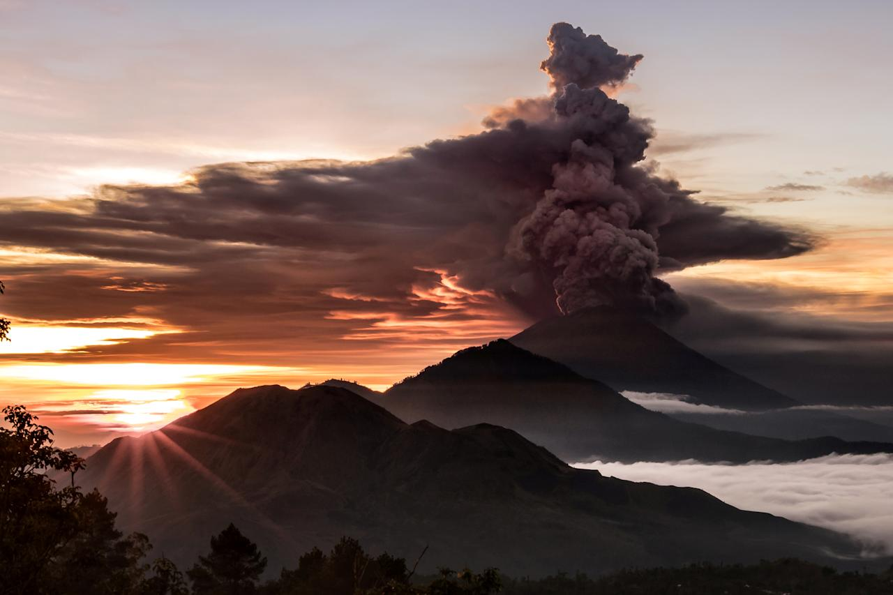 Image result for Mount Agung