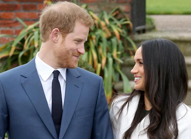 Prince Harry and Meghan Markle will wed today. (Photo: Getty)