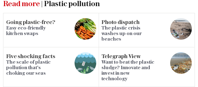Read more | Plastic pollution