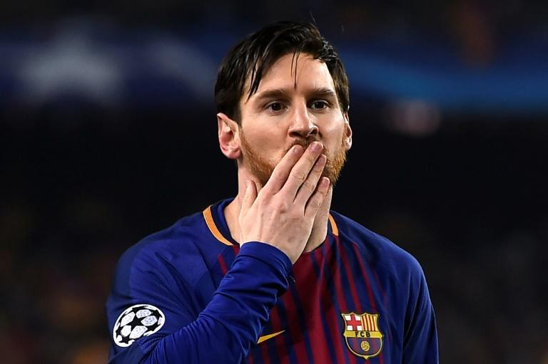 (FILES) Lionel Messi kissing goodbye to Barcelona is also disastrous news for La Liga as a whole