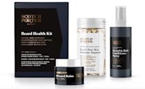 <p>Give him and his beard the love it deserves with the <span>Scotch Porter Immunity Boost Beard Health Kit</span> ($23).</p>