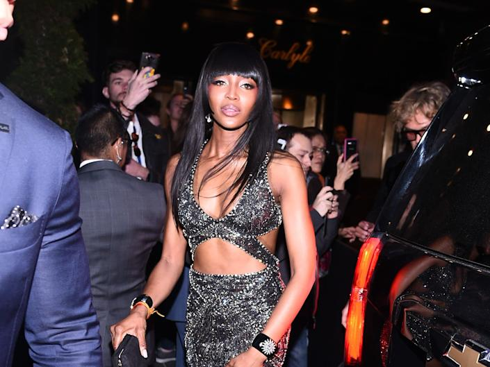 Naomi Campbell Carlyle Hotel