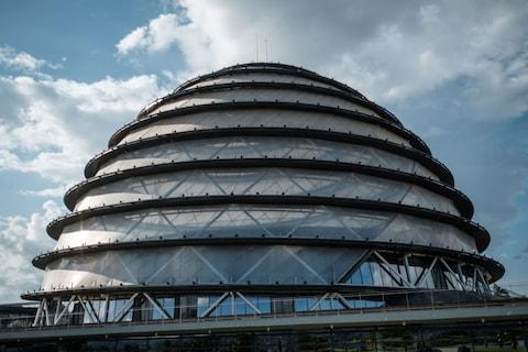 The Kigali convention centre - Credit: GETTY