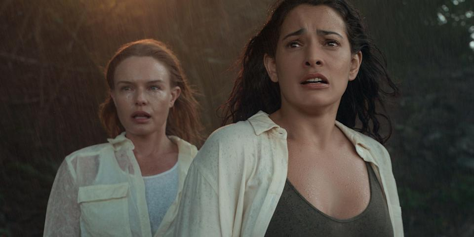 """<p><strong><em>The I-Land</em>(2019)</strong></p><p>This Netflix original miniseries follows 10 people who wake up on a mysterious island with no clue as to who they are, what they're doing there, or how to get home. Natalie Martinez, Kate Bosworth and Alex Pettyfer star, and Netflix's pre-release publicity suggests the <a href=""""https://www.refinery29.com/en-gb/2019/08/241096/fyre-festival-netflix-show-the-i-land"""" rel=""""nofollow noopener"""" target=""""_blank"""" data-ylk=""""slk:drama has been partly inspired by the Fyre Festival fiasco"""" class=""""link rapid-noclick-resp"""">drama has been partly inspired by the Fyre Festival fiasco</a>.</p><p>Available 12th September</p>"""