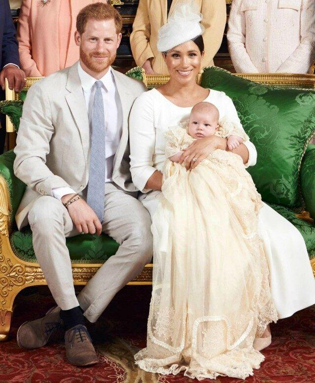 Meghan Markle Glows In Dior At Baby Archie's Christening