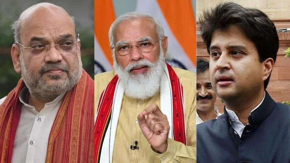 Modi Cabinet: Amit Shah made Co-operation Minister; Aviation for Scindia