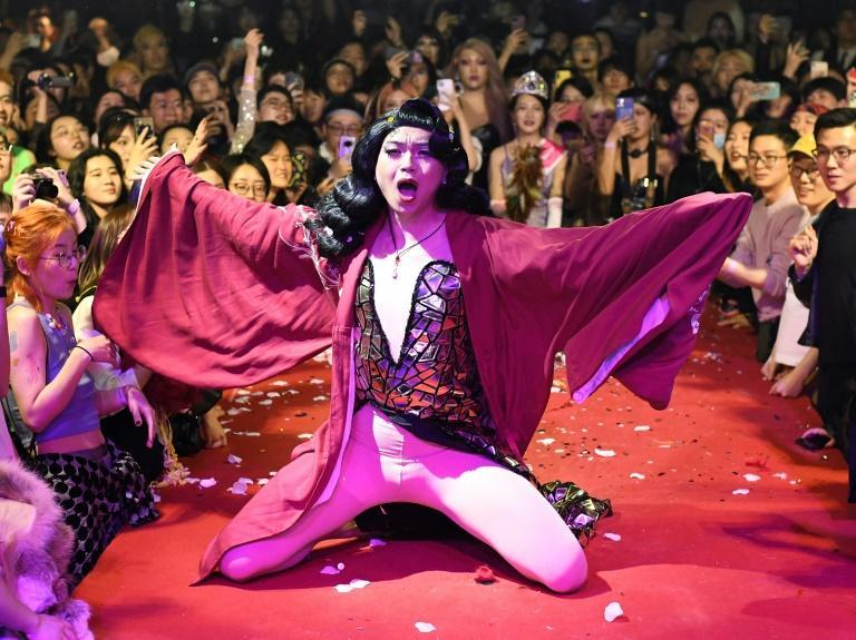 Beijing's first large-scale voguing ball drew hundreds of young LGBT Chinese, many travelling from far and wide to attend