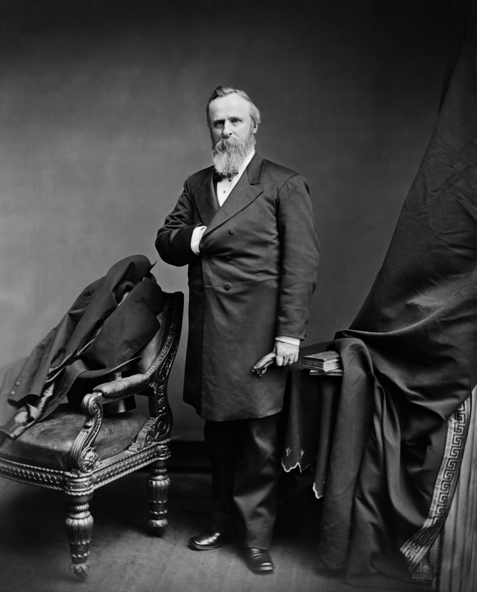 Rutherford B. Hayes. (Glasshouse Vintage/Universal History Archive/Universal Images Group via Getty Images)