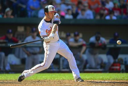 Hardy drives a double in Baltimore