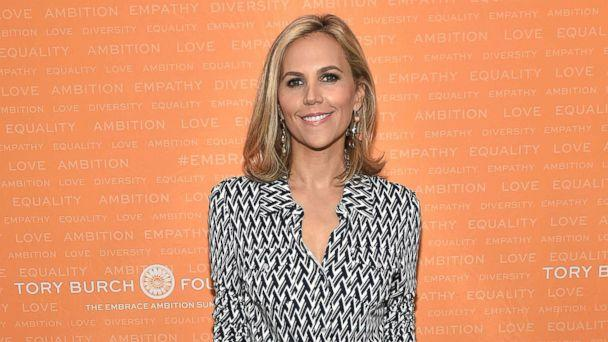 PHOTO: Tory Burch poses during the Tory Burch Foundation 2018 Embrace Ambition Summit at Alice Tully Hall, April 24, 2018, in New York City. (Mike Coppola/Getty Images, FILE)