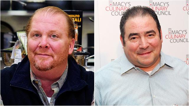 Emeril Lagasse vs. Mario Batali: Chefs to Cook Head to Head on 'GMA'