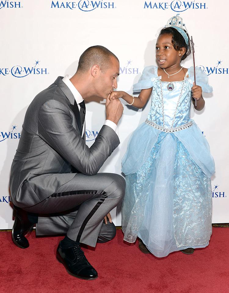 "NEW YORK, NY - JUNE 13:  Photographer Nigel Barker poses with a Wish Kid at ""An Evening of Wishes"", Make-A-Wish Metro New York's 30th Anniversary Gala at Cipriani, Wall Street on June 13, 2013 in New York City.  (Photo by Dimitrios Kambouris/Getty Images for Make-A-Wish Metro New York)"