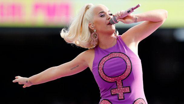 PHOTO: FILE - Katy Perry performs before the start of the Women's T20 World Cup cricket final match between Australia and India in Melbourne. (Asanka Ratnayake/AP)
