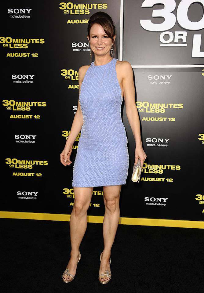 """<a href=""""http://movies.yahoo.com/movie/contributor/1804501768"""">Mary Lynn Rajskub</a> at the Los Angeles premiere of <a href=""""http://movies.yahoo.com/movie/1810160427/info"""">30 Minutes or Less</a> on August 8, 2011."""
