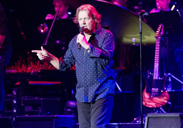 <p>John Wetton was the frontman and co-principal songwriter of the supergroup Asia. He died Jan. 31 from colon cancer. He was 67.<br> (Photo: Frank Hoensch/Redferns via Getty Images) </p>