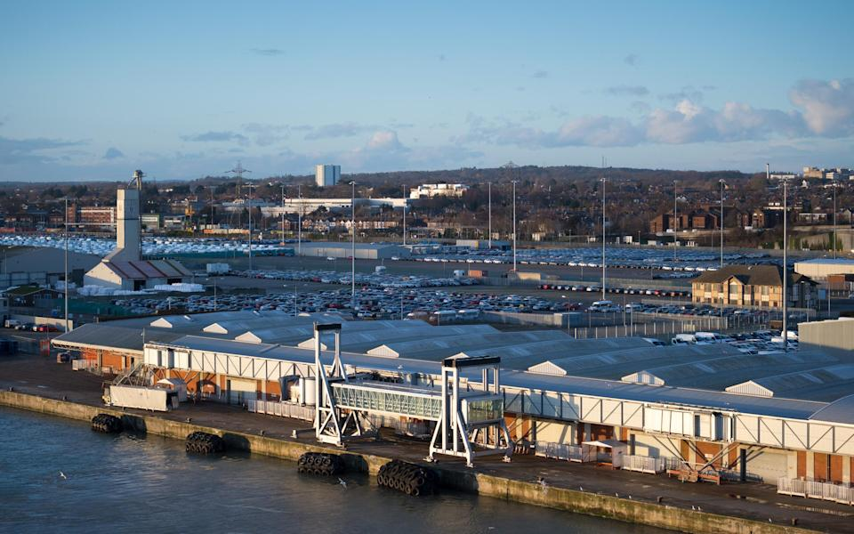Southampton cruise terminal - Getty