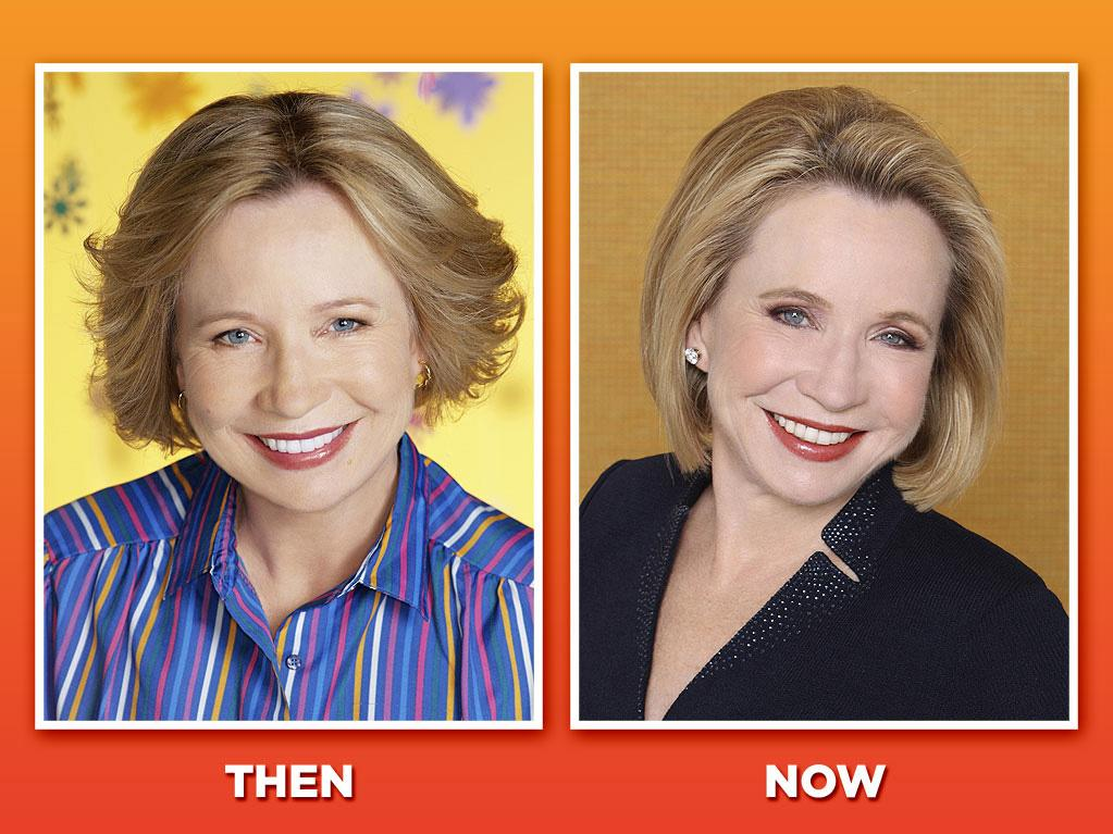 "<span style=""font-family:Arial;"">Debra Jo Rupp (Kitty Forman) <br><br>Always perky and ready with a snack, Rupp was the quintessential sitcom mom as Eric's sweet-natured mother, Kitty. Her bubbly nature helped to balance out Red's surliness, and the two served as surrogate parents to the whole ""'70s"" gang. And Rupp knows where her bread is buttered: She played another giggly sitcom mom last year on ABC's ""<a href=""http://tv.yahoo.com/better-with-you/show/46530"">Better With You</a>."" That series only lasted one season, but we're pretty sure we'll see Rupp back on TV baking cookies soon enough.</span>"