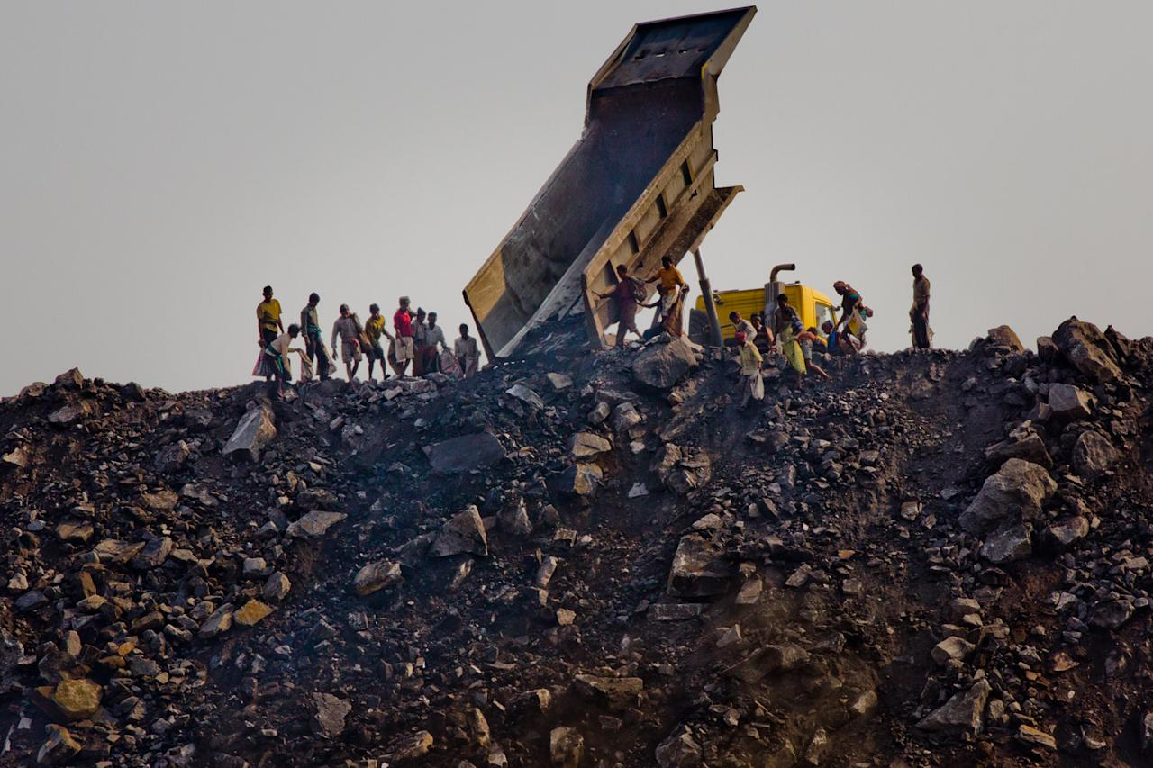 Daily life of the Indian miners