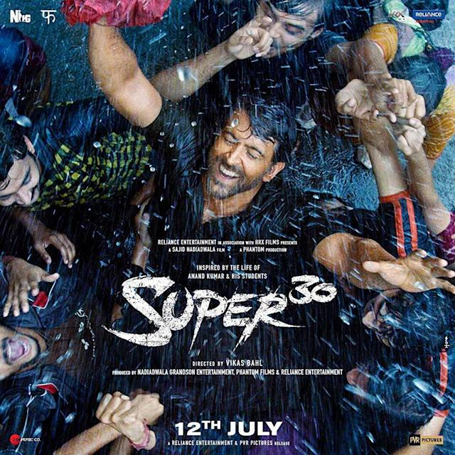 'Super 30' tells the story of Anand Kumar, who coached students from the economically weaker background for the entrance exam of Indian Institutes of Management. Hrithik Roshan essayed the titular role and traverses the life and achievements of Kumar. The film was screened in July.