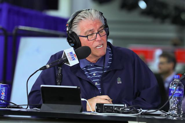 Things are getting personal between Mike Francesa and the Giants. (Getty)